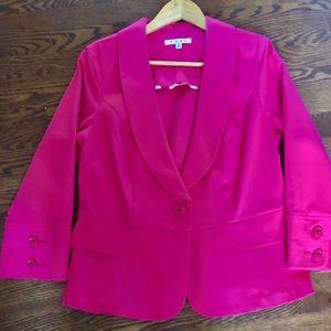 CAbi Hot Pink Blazer Size 10
